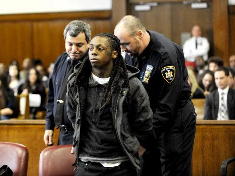 lil wayne in prison 2010